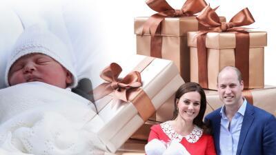 Desde costosos libros hasta objetos de plata: estos son los regalos que ha recibido el nuevo bebé real