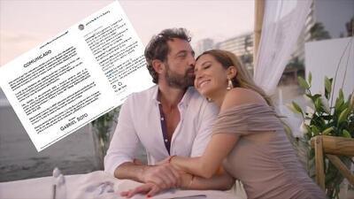 Geraldine Bazán y Gabriel Soto se mostraron como la pareja perfecta... al día siguiente de anunciarse la separación