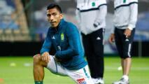 Ángel Mena, feliz por estar recuperado y poder jugar con León