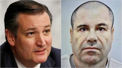 Ted Cruz urge al Senado a aprobar su propuesta de ley para que 'El Chapo' pague por el muro