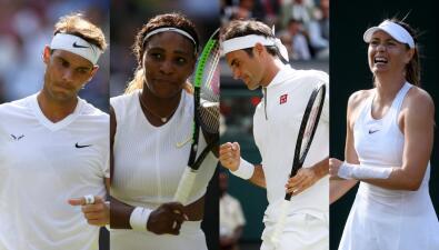 Pasos de gigantes en Wimbledon y la eliminación de dos grandes en primera ronda