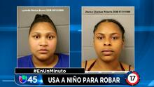 En Un Minuto Houston: Arrestan a dos mujeres que usaron a un menor para robar mercancía de una tienda Academy