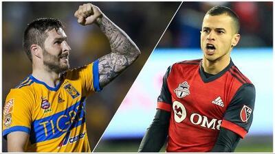 Las números de Gignac y Giovinco, el duelo de cracks en el Tigres vs. Toronto