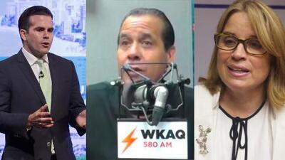 Georgie Navarro analiza los comentarios de Rosselló hacia Trump versus los de Carmen Yulín