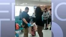 Cancelan vuelo por altercado entre un grupo de turistas en el aeropuerto Luis Muñoz Marín