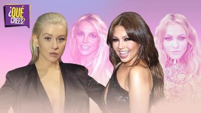 Christina Aguilera confiesa que le dolió ser comparada con Britney Spears (rivalizadas como Thalía y Paulina)
