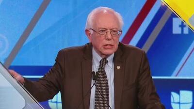 Adelanto: Lo mejor del debate demócrata de Univision