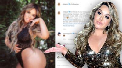 """""""Pueden besarme el..."""": Chiquis Rivera le manda un rotundo mensaje a los 'haters' mientras celebra sus 34 años"""