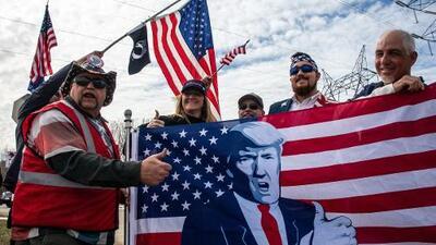 Cuando el presidente es el primer soldado y francotirador de la 'guerra ideológica' que consume a EEUU