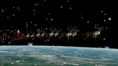 ¿Puedes rastrear a Santa Claus en tiempo real?