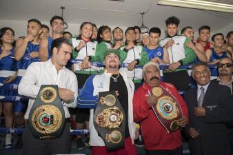 El cariño 'olímpico' a Andy Ruiz en México como campeón mundial de peso completo