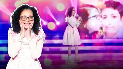 Esta es la emotiva historia detrás de la dulce voz de Taisia, la ganadora de la primera calificación perfecta de Pequeños Gigantes