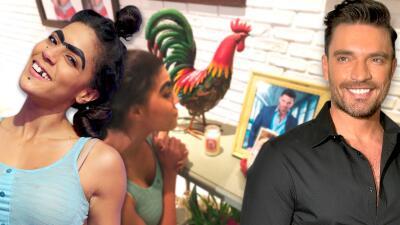 El reencuentro entre Mela y Julián Gil en Enamorándonos y una cita de amor inesperada