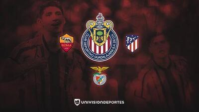 Ya hay fechas y sedes: Chivas enfrentará a AS Roma, Benfica y Atleti en la ICC