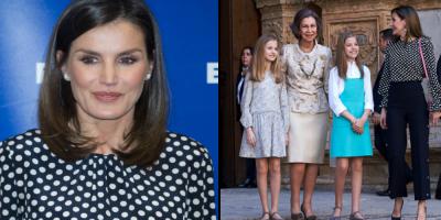 ¿Coincidencia? Un año después, la reina Letizia presume la ropa del penoso incidente con la madre del rey de España