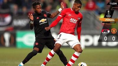 United y AZ Alkmaar igualan en un encuentro aburrido