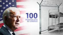 Las promesas de Biden tras 100 días de gobierno: cerrar los centros de detención