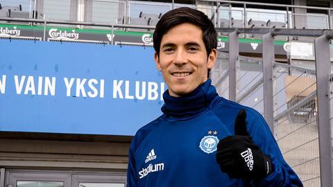 Marco Bueno pasa de Tláloc a Thor con segundo gol en el HJK Helsinki de Finlandia