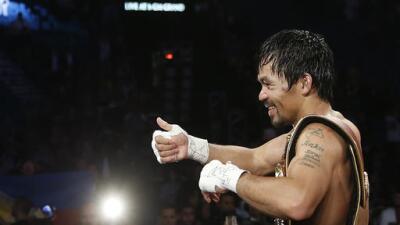 Bob Arum apartó fecha para Manny Pacquiao