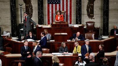 La Cámara de Representantes aprueba formalizar y hacer público el juicio político contra Trump