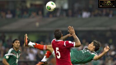Los mejores goles en la historia del Estadio Azteca