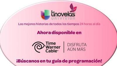 ¡Univision tlnovelas ahora en Time Warner Cable!