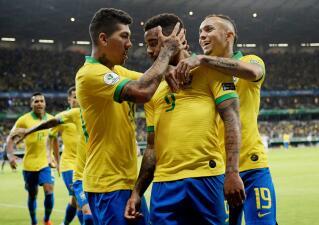 En fotos: Brasil derrota a Argentina y va a su primera Final de Copa América desde 2007
