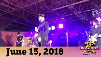 La Mafia's performance at KXTN's 30th