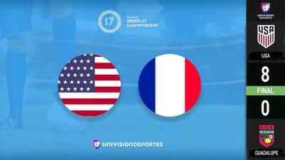 Estados Unidos 8 - 0 Guadalupe– GOLES Y RESUMEN – Premundial Concacaf Sub-17