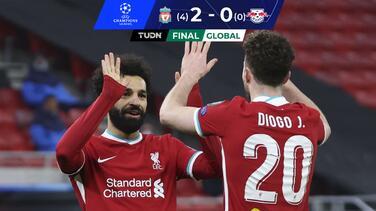 Liverpool repite dosis al Leipzig y avanza a Cuartos de Final