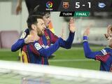 Barcelona supera al Alavés en la Jornada 23 con un Messi exquisito