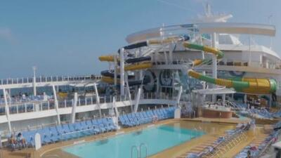 Vacaciones en el crucero más grande del mundo
