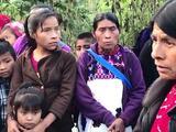 La violencia amenaza de nuevo a miles de indígenas en el sur de México desplazados por grupos armados