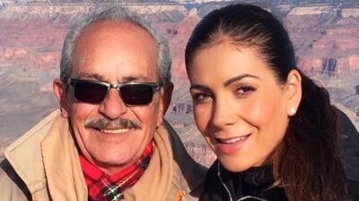 """""""Hasta pronto papito"""": Patricia Manterola se despide de su padre tras ser encontrado muerto en un auto"""