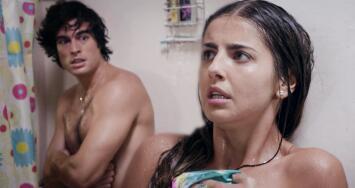 Valeria y Mateo vivieron un incómodo momento en la ducha
