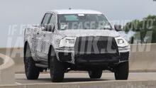Capturada en la calle: la próxima Ford Ranger tendrá una versión 'raptorizada'