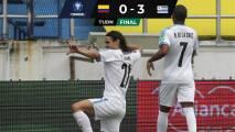 Líderados por Cavani y Luis Suárez, Uruguay goleó a Colombia