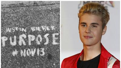 Autoridades de SF van contra grafitis promocionales del nuevo disco de Justin Bieber