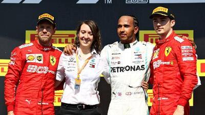 Polémica sanción a Vettel le da el triunfo a Hamilton en el GP de Canadá