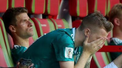 Alemania, por primera vez en su historia, fuera en etapa de grupos