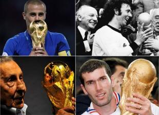 Los mejores futbolistas de los Mundiales