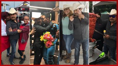 En Fotos: El Feo deja su huella y muchos corazones rotos en Dallas