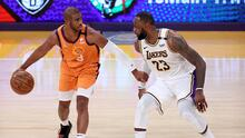 Suns iguala la serie a Lakers que sufre lesión de Anthony Davis