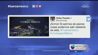 Deportistas mandan mensajes de solidaridad con el pueblo mexicano tras devastador temblor
