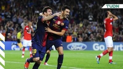 "David Villa: ""Nunca tuve ninguna polémica con Messi"""