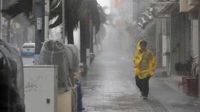 Las impresionantes imágenes que deja el tifón Trami en Japón