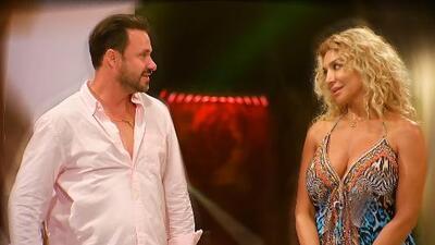 Cristian Zuárez (el ex de Laura Bozzo) se equivocó al responder estas preguntas de su nueva pareja y te mostramos la reacción de ella