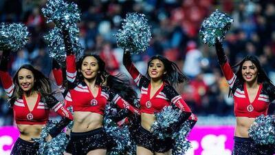 El color y la fiesta de las porristas se tomaron la Liga MX en el fin de semana