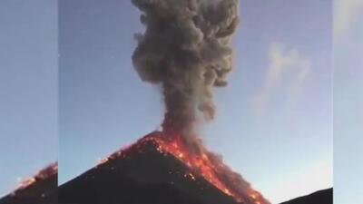Decretan luto nacional en Guatemala tras la erupción del Volcán de Fuego