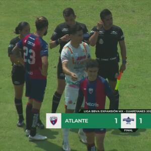 Resumen | Atlante empata 1-1 con Alebrijes en la Fecha 10